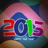 De kaartontwerp van het nieuwjaar 2013 Royalty-vrije Stock Foto's