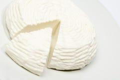 De kaas gemaakte ââwith melk van de koe,   Stock Foto's
