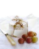 De kaas van Chaource Stock Fotografie