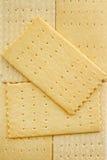 De Kaas van crackers Royalty-vrije Stock Afbeeldingen