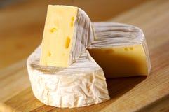 De kaas van de camembert Royalty-vrije Stock Afbeeldingen