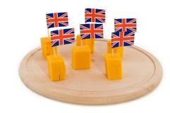 De kaas van de cheddar royalty-vrije stock foto's