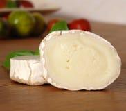De kaas van de geit Stock Fotografie