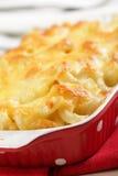 De kaas van de macaroni stock foto's