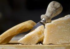 De kaas van de parmezaanse kaas stock foto