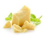 De kaas van de parmezaanse kaas stock afbeelding