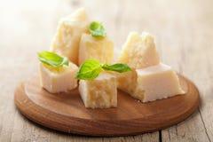 De kaas van de parmezaanse kaas Royalty-vrije Stock Fotografie