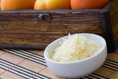 De kaas van de rasp Stock Afbeelding