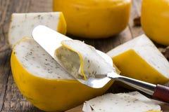 De kaas van geitkruiden royalty-vrije stock fotografie