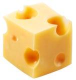 De kaas van het blok Stock Afbeelding