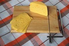 De kaas van het gedeelte Stock Foto