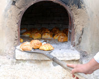 De kaasbrood van Pasen, Cyprus Stock Afbeeldingen
