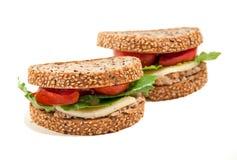De kaassandwiches van de tonijn Royalty-vrije Stock Afbeelding