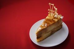 De kaastaart van de karamel Royalty-vrije Stock Foto's
