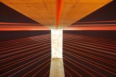 De kabel bleef brug Stock Afbeelding