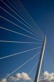 De kabel bleef brug Royalty-vrije Stock Foto's