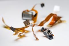 De kabel en de motor van de schakelaar Royalty-vrije Stock Foto