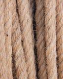 De kabel met stro bedekt Royalty-vrije Stock Fotografie