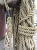 De kabel op het schip Royalty-vrije Stock Foto