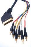 De kabel van de component royalty-vrije stock foto