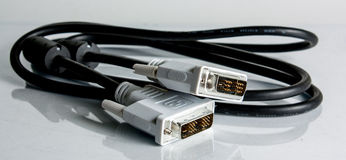 De kabel van de computer Stock Foto's