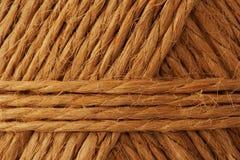 De kabel van de hennep Stock Foto