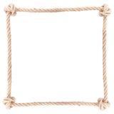 De kabel van de kaderknoop Royalty-vrije Stock Foto
