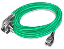 De kabel van de macht Stock Fotografie