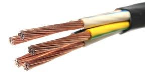 De kabel van de macht Royalty-vrije Stock Afbeelding
