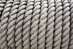 De kabel van de Queenskabel met mooie textuurachtergrond royalty-vrije stock foto's