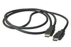 De kabel van Hdmi Royalty-vrije Stock Foto's