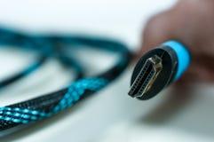 De kabel van Hdmi royalty-vrije stock fotografie