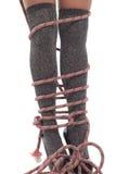 De kabel van het alpinisme Royalty-vrije Stock Afbeeldingen