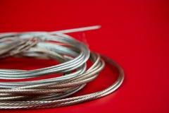 De kabel van het staal Stock Afbeeldingen