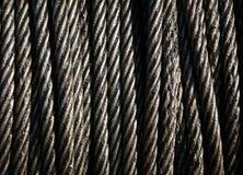 De kabel van het staal Stock Fotografie