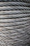 De Kabel van het staal Stock Foto