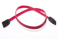 De kabel van Serial ATA Royalty-vrije Stock Afbeelding