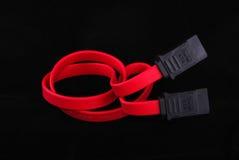 De kabel van Serial ATA Stock Foto's