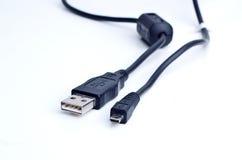 De kabel van Usb Royalty-vrije Stock Fotografie