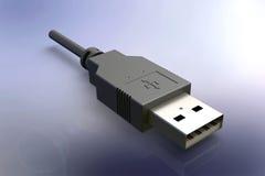 De kabel van USB Royalty-vrije Stock Afbeeldingen