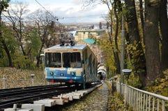 De kabelbaan van Kiev royalty-vrije stock afbeelding