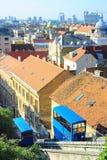 De kabelbaan van Zagreb royalty-vrije stock fotografie