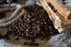 De kabelboek van de koffieboon Royalty-vrije Stock Foto's