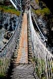 De kabelbrug van Carrickarede Royalty-vrije Stock Fotografie