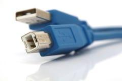 De kabels van de aansluting stock afbeelding