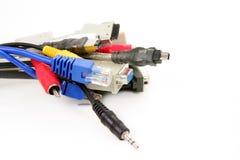 De kabels van de computer Royalty-vrije Stock Foto's