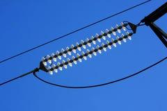 De kabels van de hoogspanning Royalty-vrije Stock Fotografie