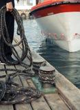 De kabels van de meertros Royalty-vrije Stock Afbeeldingen