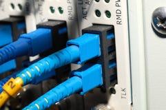 De kabels van de vezel Royalty-vrije Stock Foto's