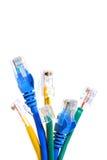 De Kabels van Eithernet Stock Foto